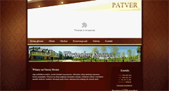 Preview of hotelpatver.pl