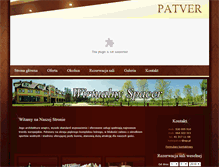 Tablet Preview of hotelpatver.pl